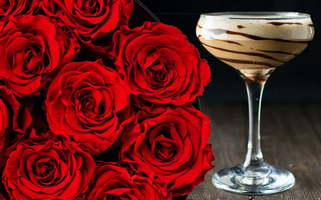 Virtual Valentine's Flower Arrangements and Sip on Zoom
